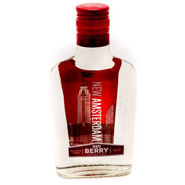 New Amsterdam Red Berry Vodka 200ml