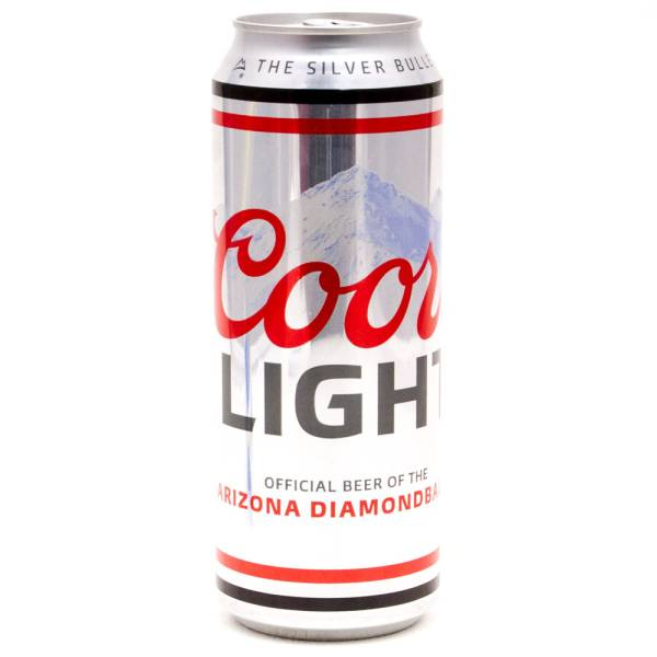 Coors Light 24oz Beer Wine And Liquor Delivered To Your