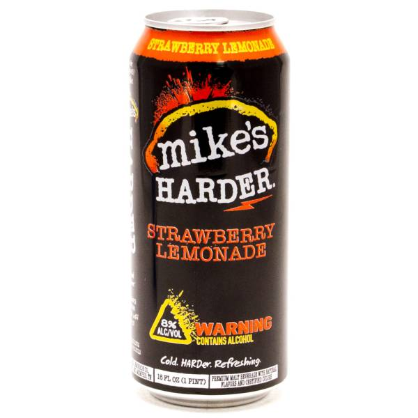 Mike's Hard Lemonade -Harder Strawberry Lemonade - 16oz