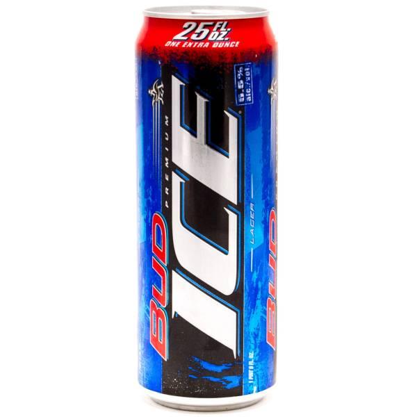 Bud Ice Lager 25oz