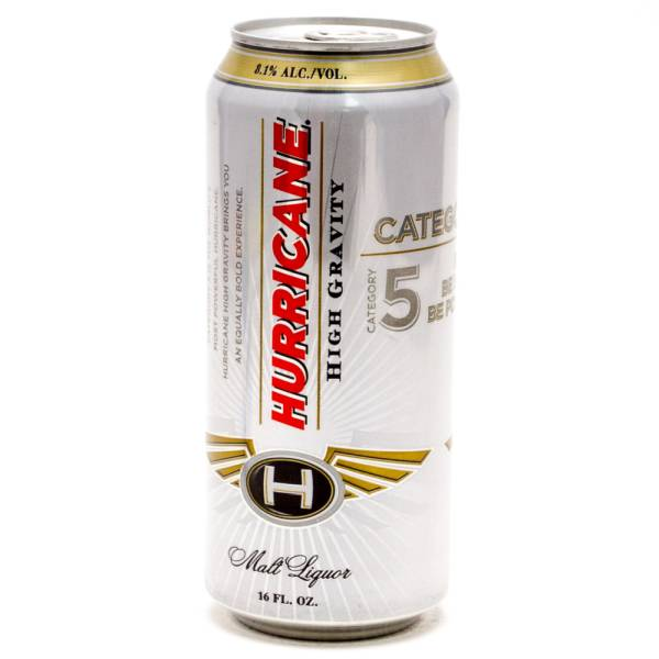 Hurricane High Gravity Category 5 Malt Liquor 16oz