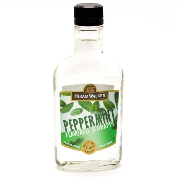 Hiram Walker Peppermint Flavored Schnapps 200ml
