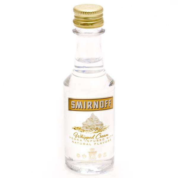 Smirnoff Whipped Cream Vodka 50ml