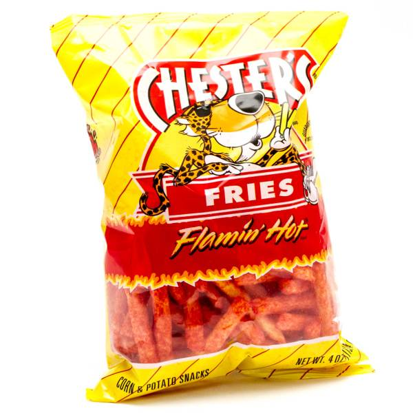 Chester's Fries Flamin' Hot 4oz