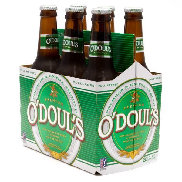 O'Doul's Non-Alcoholic Brew Malt Beverage 6 Pack 12oz Bottles