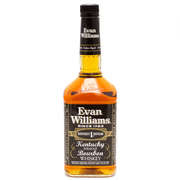 Evan Williams Kentucky Bourbon Whiskey 750ml