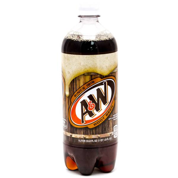 A&W Rootbeer 1L Bottle