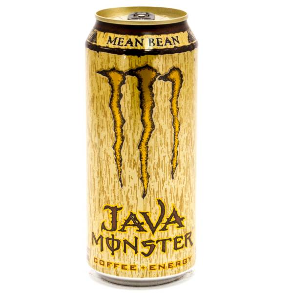 monster java mean bean coffee energy 15oz can beer wine and