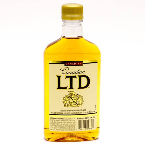 Canadian LTD Whiskey 375ml