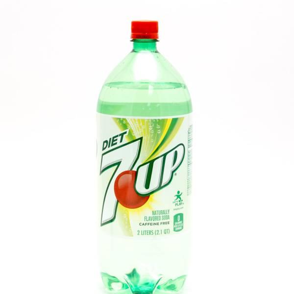 Diet 7 Up 2L Bottle