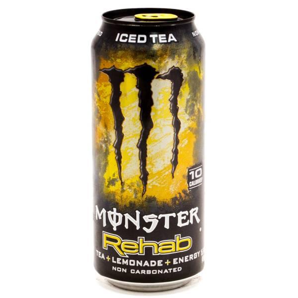 Monster Energy Drink Rehab Tea+Lemonade+Energy 15.5oz Can