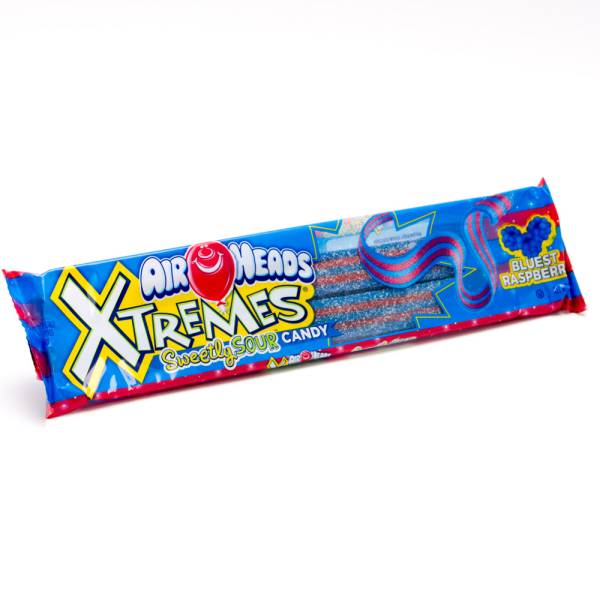 Air Heads Xtremes Blue Raspberry 2oz