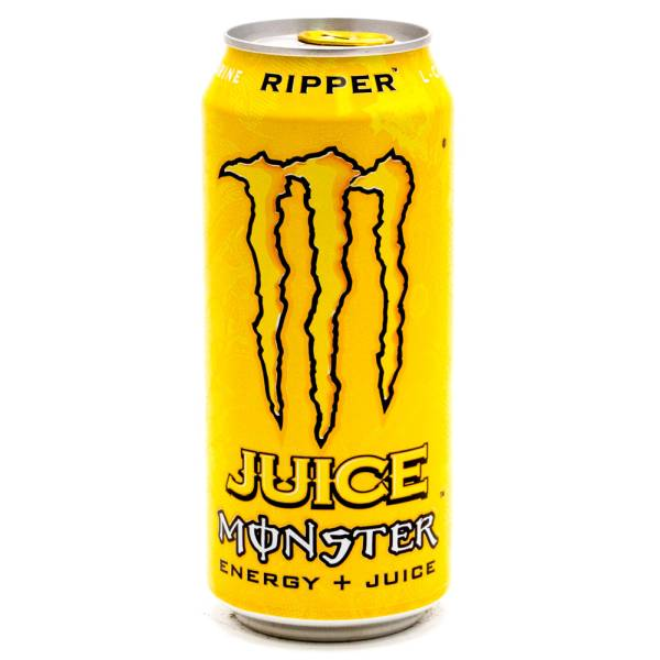 Monster Energy Drink Ripper Juice 15.5oz Can