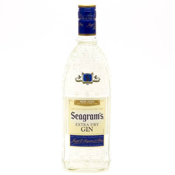 Seagram's Extra Dry Gin 750ml