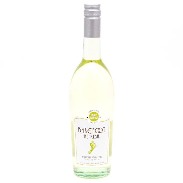 Barefoot Refresh Crisp White California 750ml