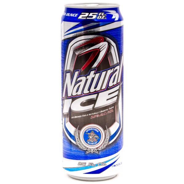 Natural Ice 25oz