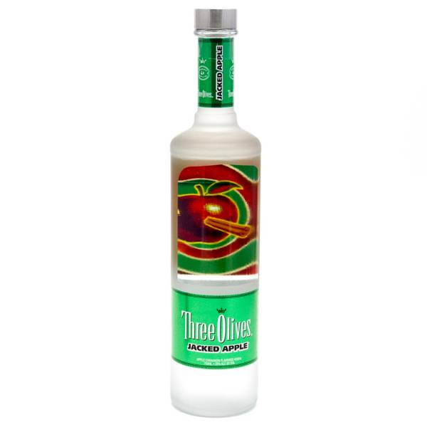 Three Olives Jacked Apple 750ml