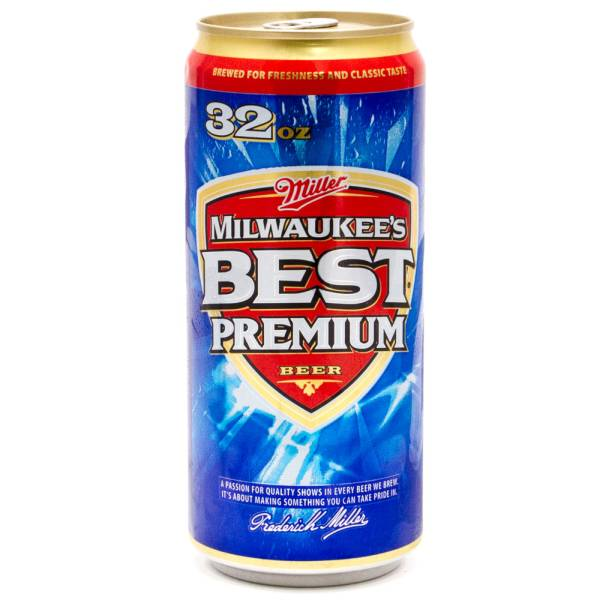Miller Milwaukee's Best Premium Beer 32oz