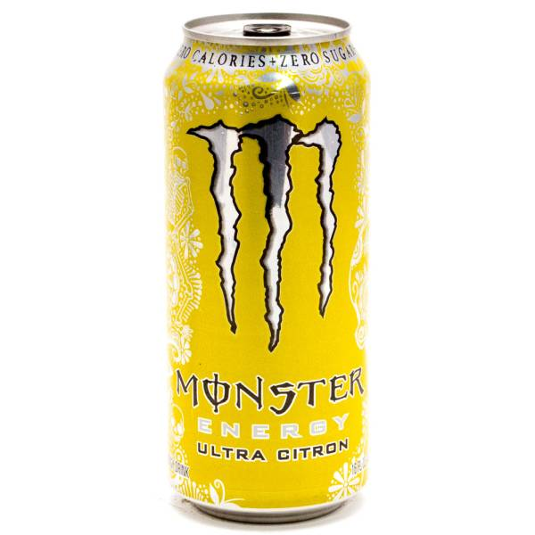 Monster Energy Drink Ultra Citron 425-05815.5oz Can