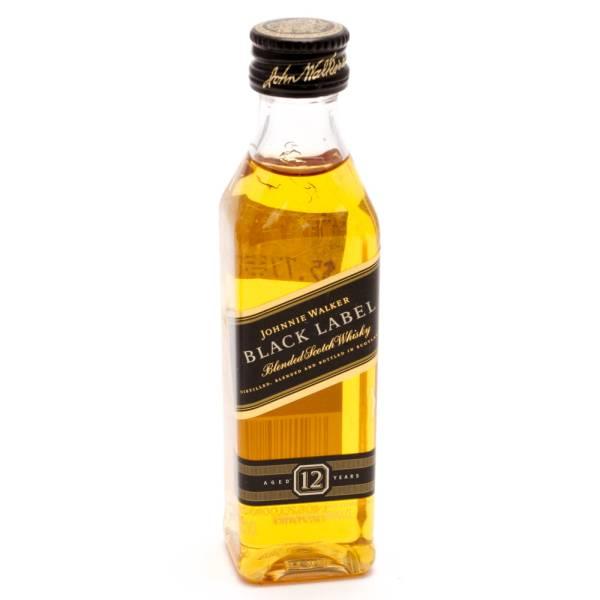 Johnnie Walker Black Label Scotch Whiskey 50ml