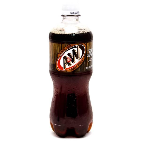 A&W Rootbeer 20oz Bottle