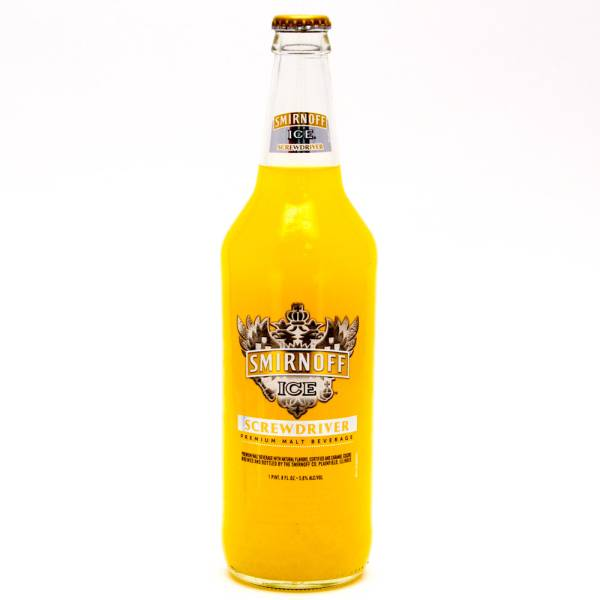 Smirnoff Ice Screwdriver 5.8% Alc/Vol 1 Pint 8oz