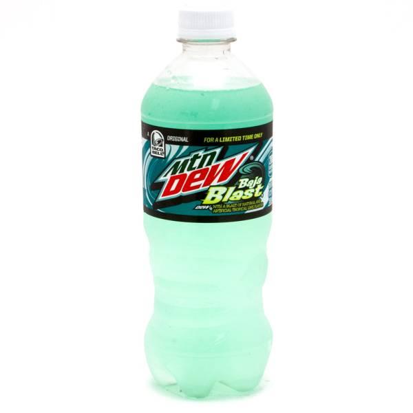 Mtn Dew Baja Blast 20oz Bottle