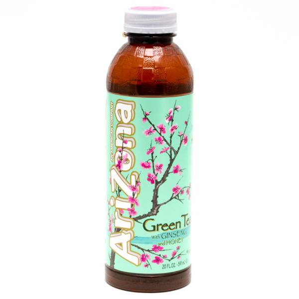 Arizona Green Tea With Ginseng And Honey 20oz