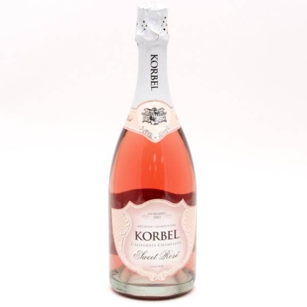 Korbel California Champagne Sweet Rose 750ml
