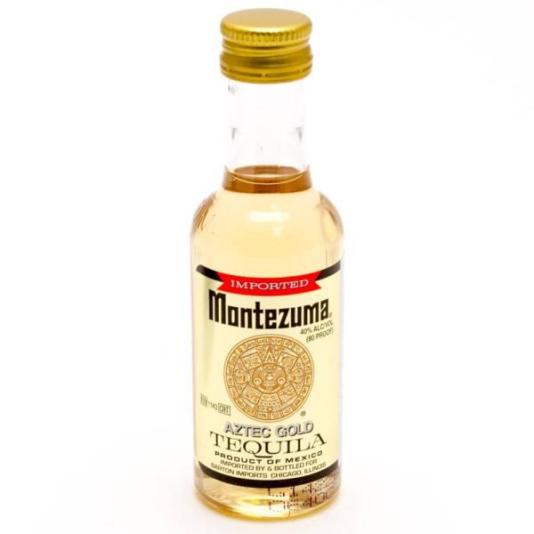 Montezuma Aztec Gold Tequila 50ml
