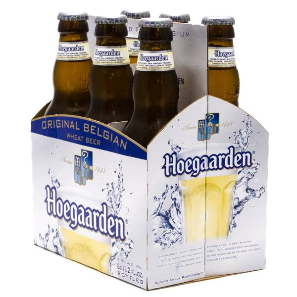 Hoegaarden Original Belgium 4.9% Alc/Vol 6 Pack 11.2oz Bottles