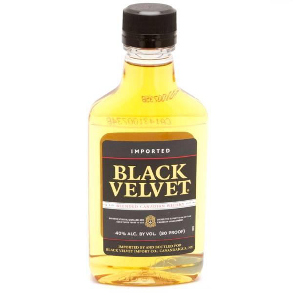 Black Velvet Canadian Whiskey 200ml