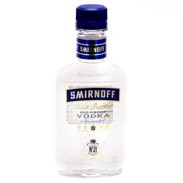 Smirnoff 100 Proof Vodka 200ml