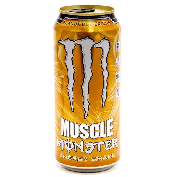 Muscle Monster Peanur Butter Cup Energy Shake448-431 15oz Can