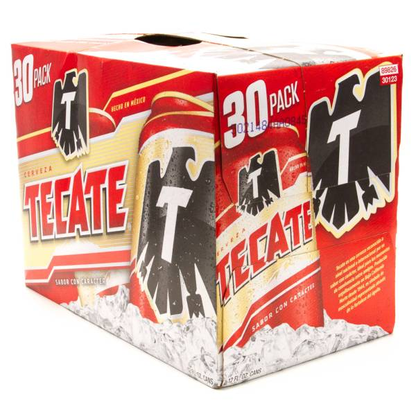 Tecate 30 Pack - 12oz Cans