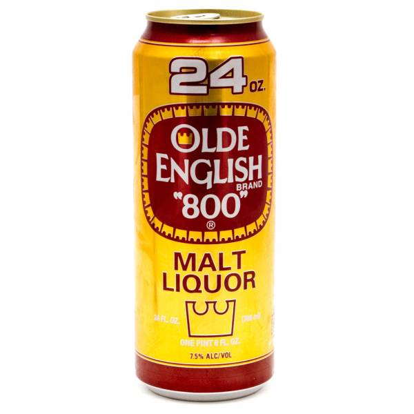 Olde English Malt Liquor 7.5% Alc/Vol 24oz