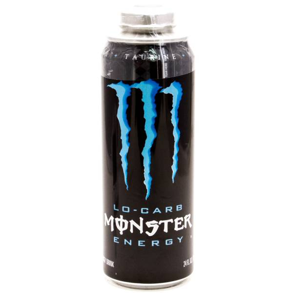 Monster Lo-Carb Energy Drink 24oz Can