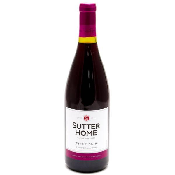 Sutter Home Pinot Noir California 2011 750ml