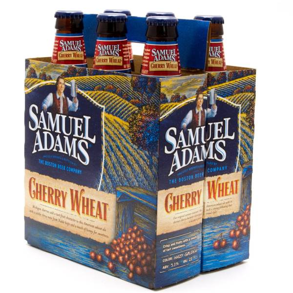 Sam Adams Cherry Wheat 6 Pack 12oz Bottles