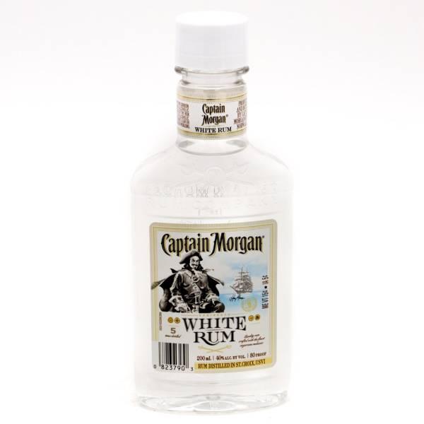 Captain Morgan White Rum 200ml