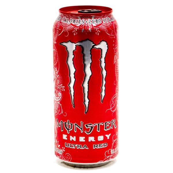 monster energy drink ultra red 155oz can beer wine and