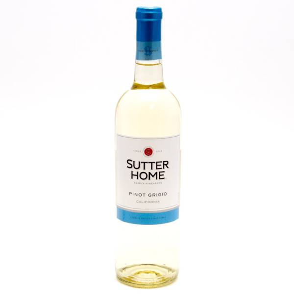 Sutter Home Pinot Grigio California 750ml