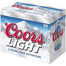 Coors Light - 30 pack