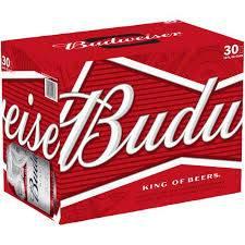 Budweiser 30 pack
