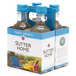Sutter Home Pinot Grigio 4 Pack 187ml...