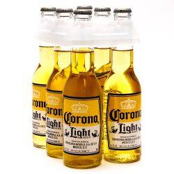 Corona Light 6 Pack 12oz Bottles