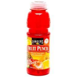 Langers Fruit Punch 16oz