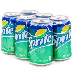 Sprite - 6 pack - 12oz Cans
