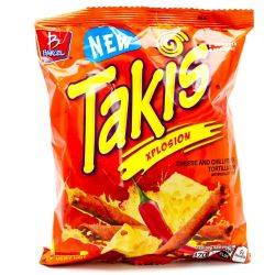 Takis Xplosion Cheese and Chilli...