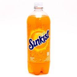 Sunkist Orange Soda 33.8oz